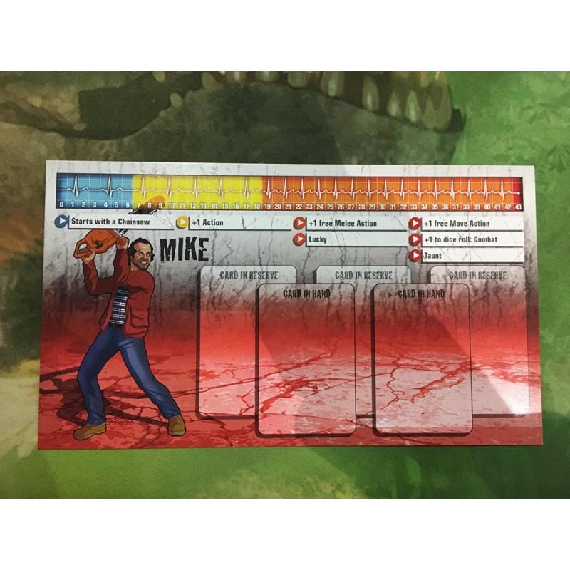 Zombicide Mike survivor et zombivor Saison 3 Kicktstarter english anglais