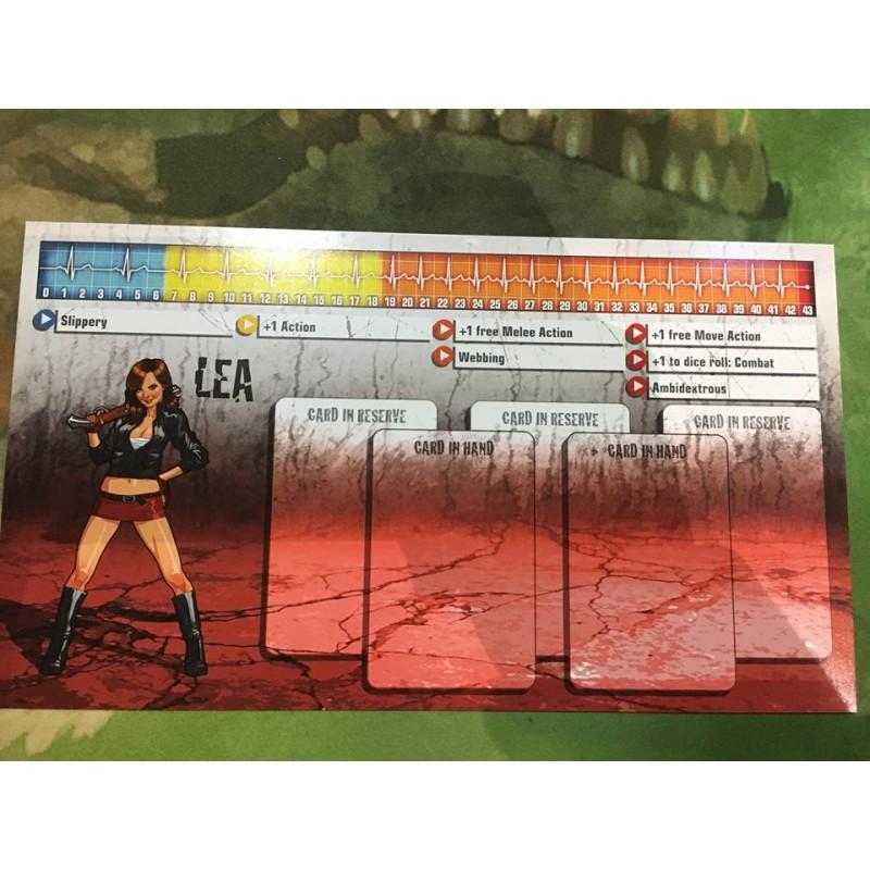 Zombicide Lea survivor et zombivor Saison 3 Kicktstarter english anglais