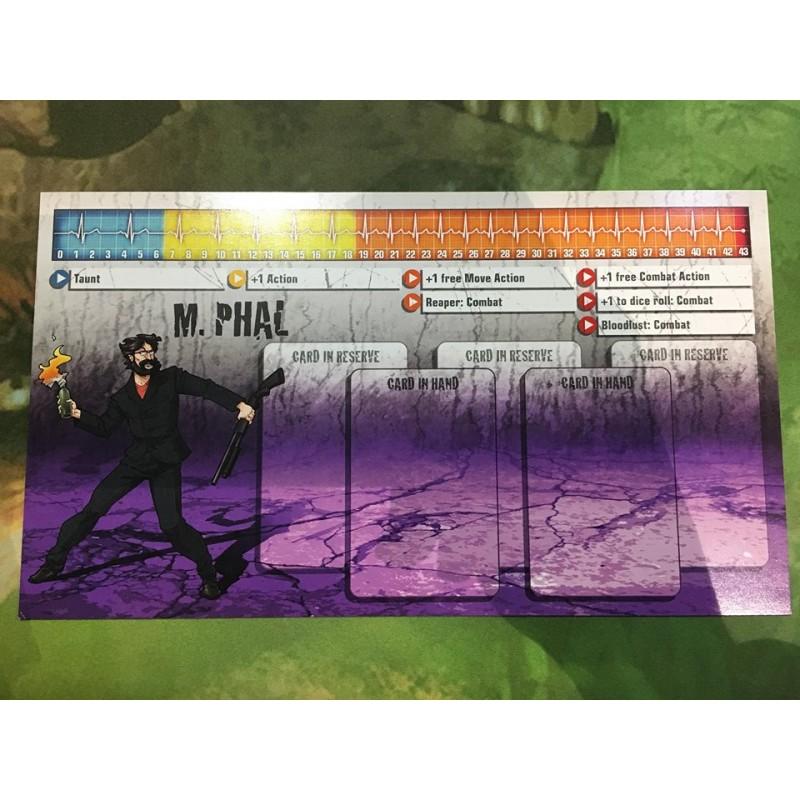 Zombicide M.Phal survivor et zombivor Saison 3 Kicktstarter english anglais