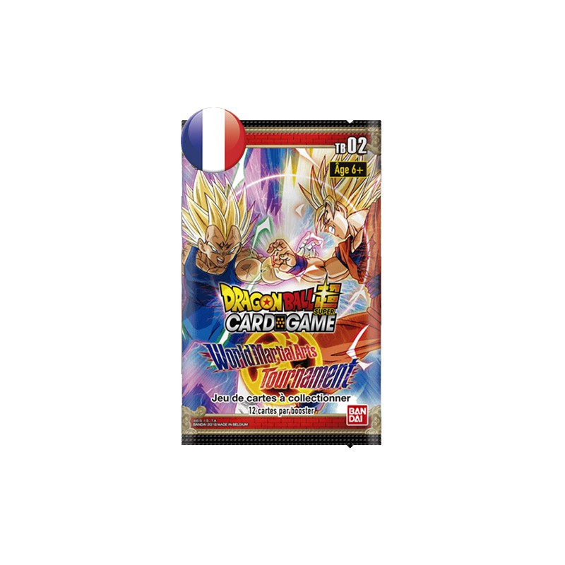 Dragpon ball super card game TB02 wolrd martial arts Tournament FR