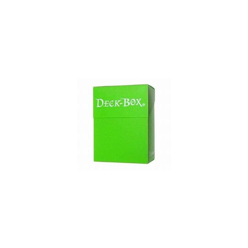 Deck Box Light Green Ultra Pro
