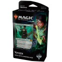 "Magic Deck de Planeswalker 2019 FR "" Vivien au bestiarc "" VF"