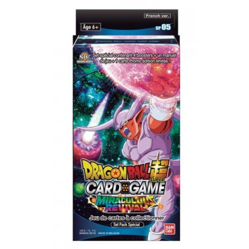 Dragon Ball super card game Special pack Serie 5 FR