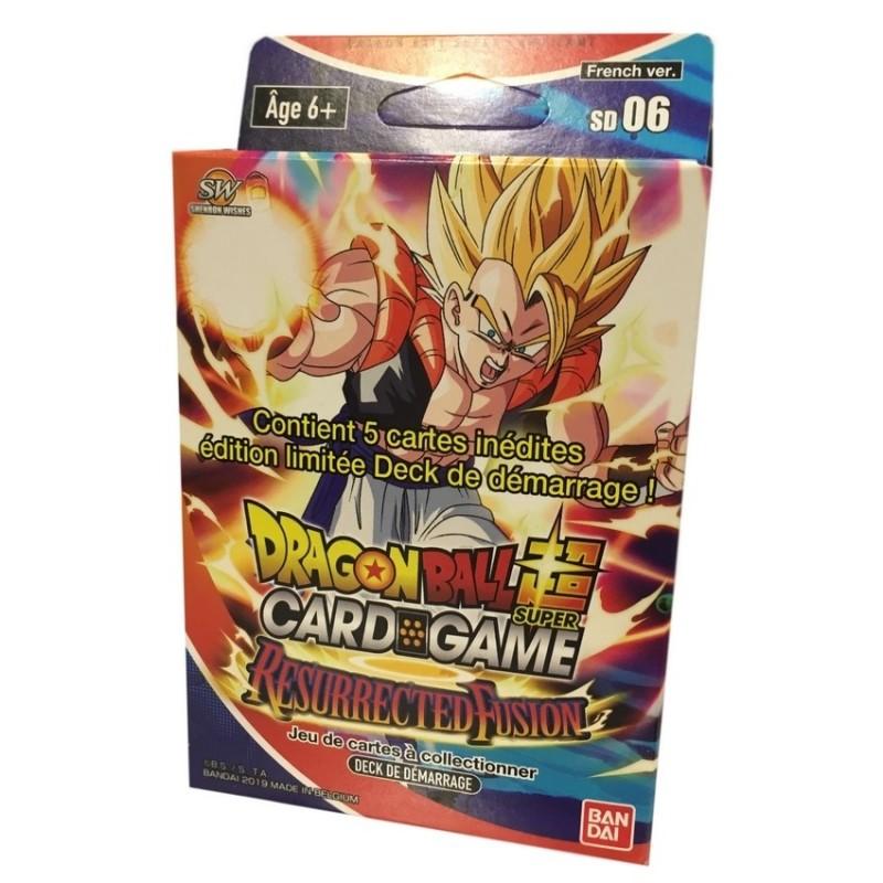 Dragon Ball super card game Starter Resurrected fusion FR