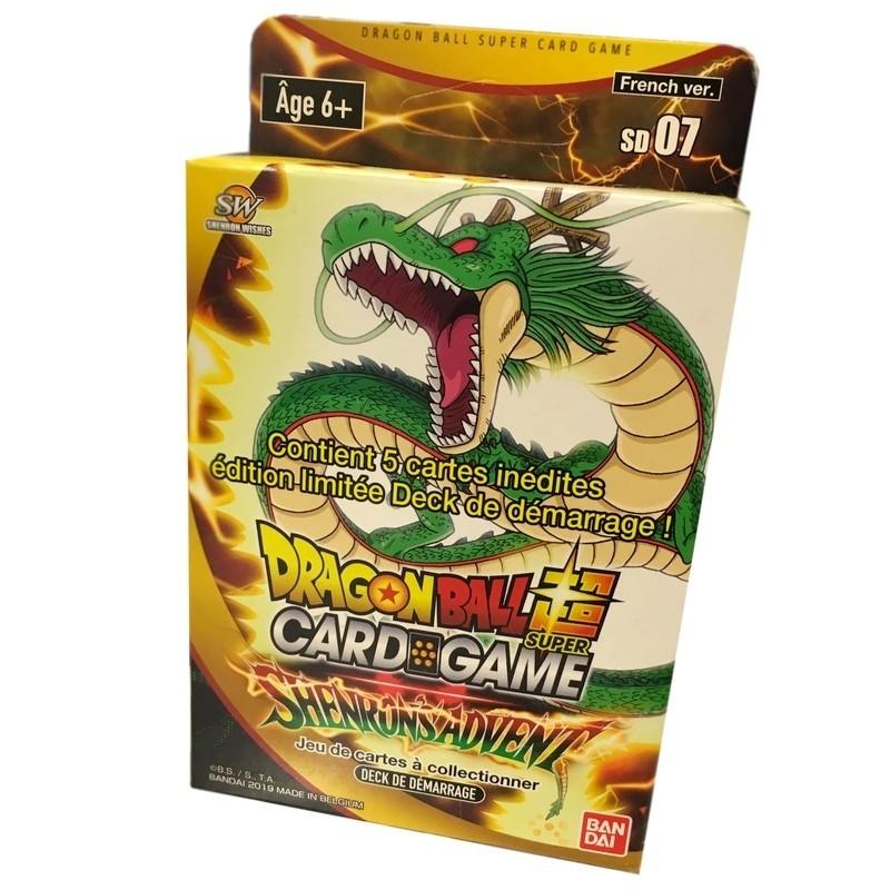Dragon Ball super card game starter 7 Shenrons Advent FR