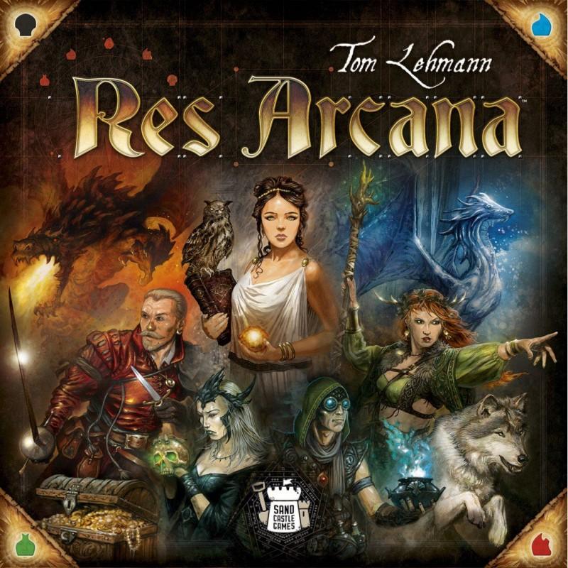 Res Arcana FR Sand Castle Games