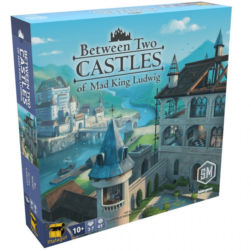 Between Two Castles of Mad King Ludwig FR Stnemaier Games