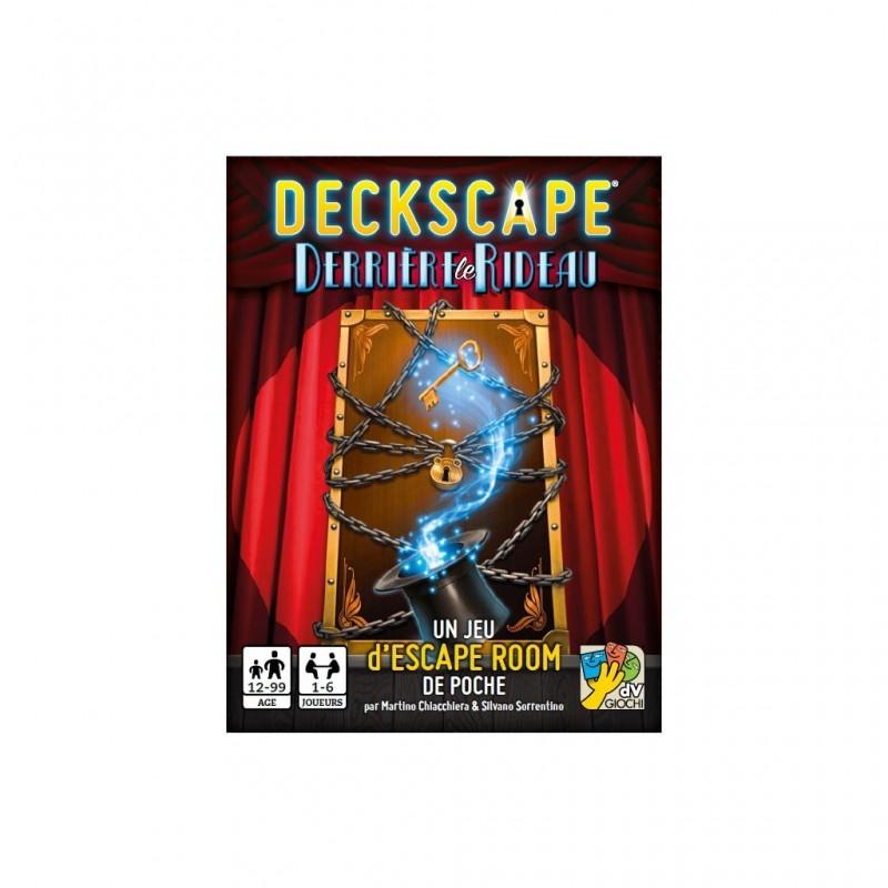 Deckscape - Derrière le Rideau FR Dv Giochi