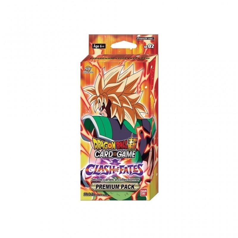 Dragon Ball super card game Premium Pack FR Bandai GE02