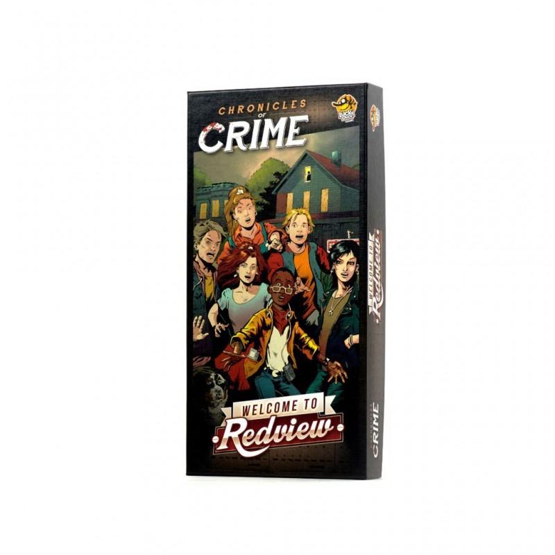 Chronicles of Crime Ext. Noir FR Lucky Duck Games