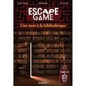Escape games 6 : Une Nuit à la Bibliothèque FR Mango