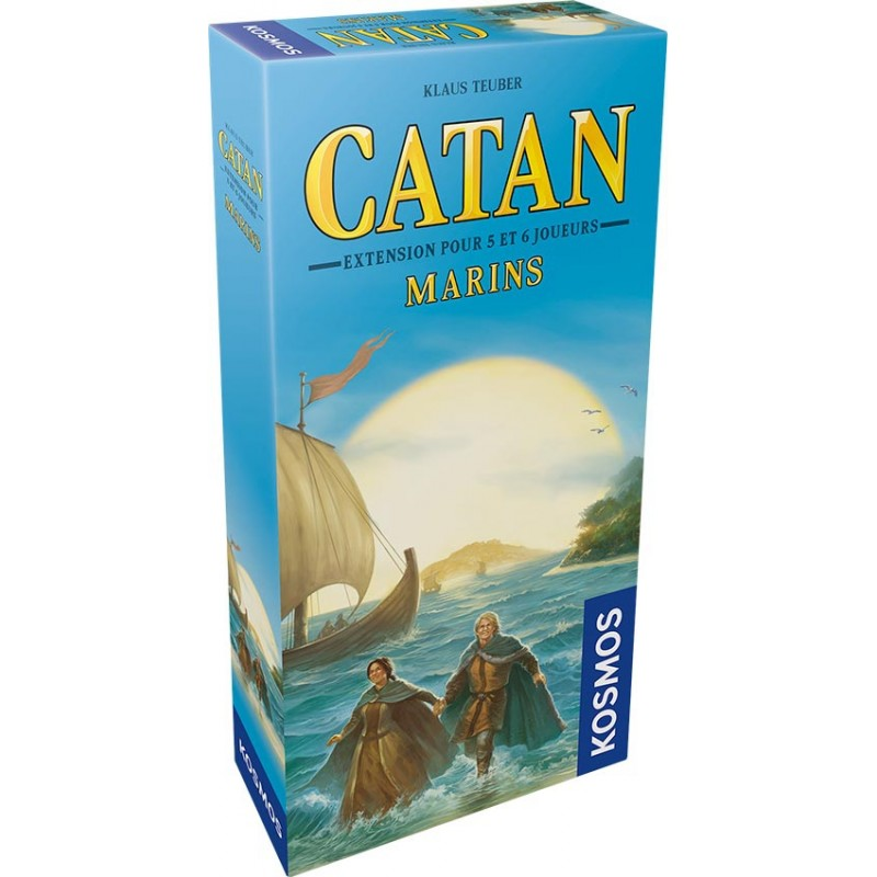 Catan Extension : Les marins 5/6 joueurs FR Kosmos