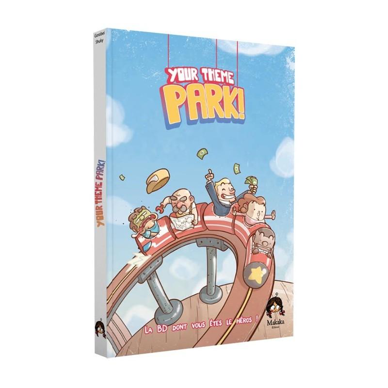 BD Your theme Park FR Makaka Edition