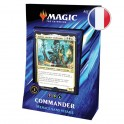 "Magic Commander 2019 ""Menace sans Visage"" Noir/Vert/bleu FR Wizards"