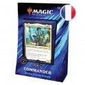 "Magic Commander 2019 ""Menace sans Visage"" Noir/Vert/bleu FR Wizards"