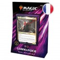 "Magic Commander 2019 ""Rage Impitoyable"" Noir/Rouge FR Wizards"