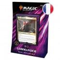 "Magic Commander 2019 ""Rage Impitoyable"" Noir/Rouge FR Wizards"