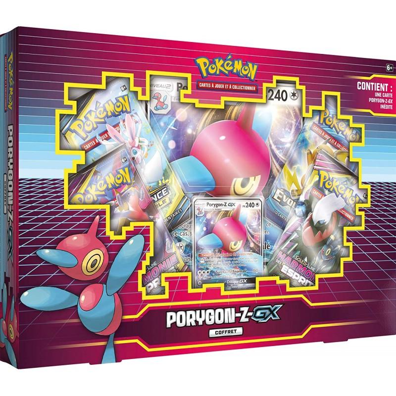 Pokemon Coffret Porygon-Z-Gx 2019 FR Pokemon Compagnie