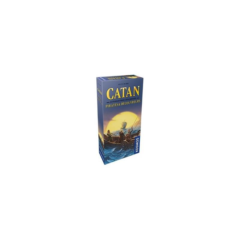 Catan Extension : Pirates et Decouvreurs 5/6 Joueurs FR Kosmos