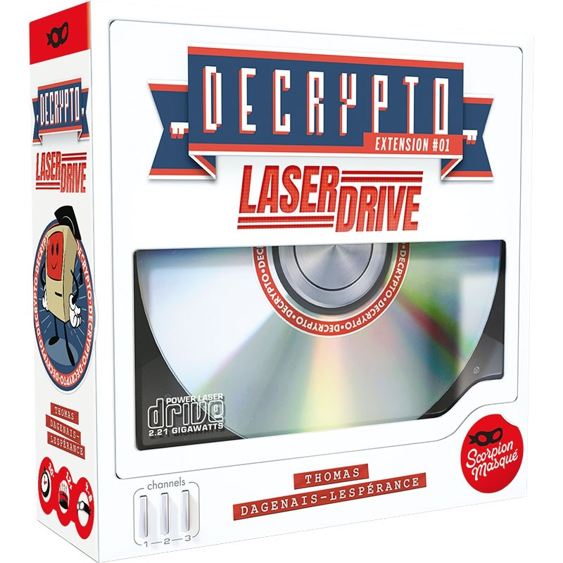 Decrypto ext. Laser Drive FR Scorpion Masque