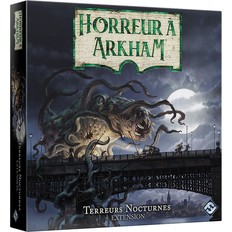 Horreur à Arkham JCE Extension :  Terreurs Nocturnes  FR FFG