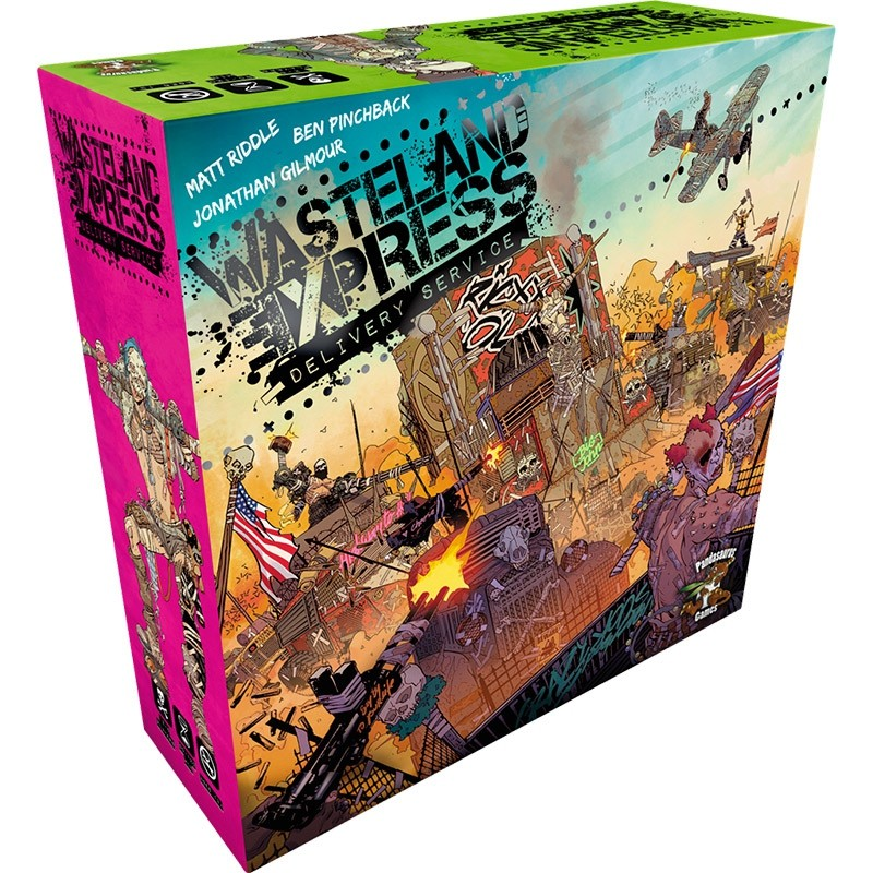 Wasteland Express Delivery Service FR Pandasaurus Games