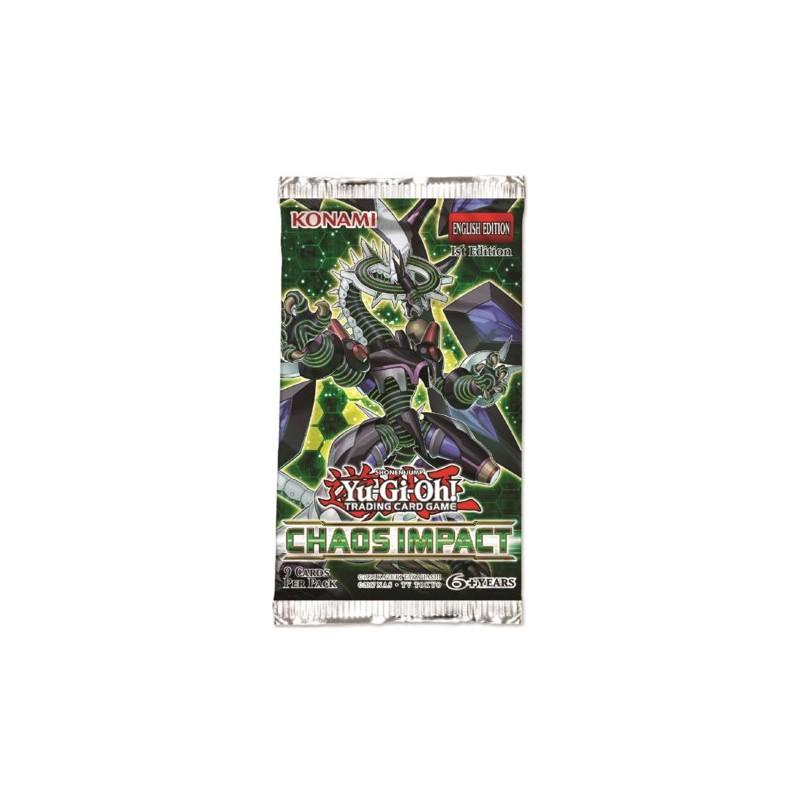 Yugioh Booster Impact du Chaos FR Konami