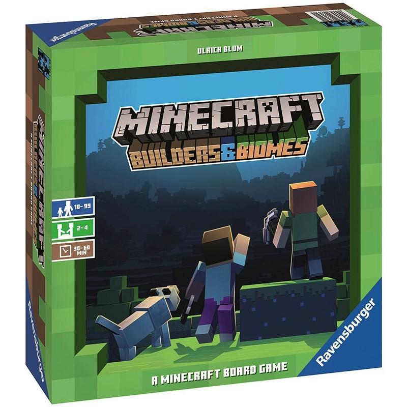 Minecraft Le jeu Builders et Biomes FR Ravensburger
