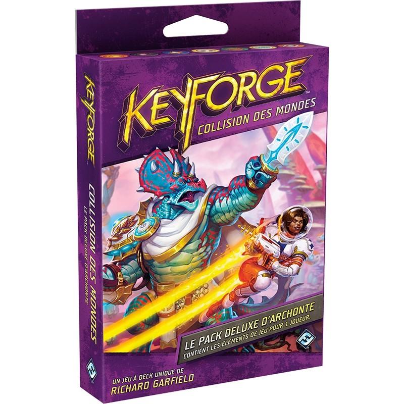 KeyForge Pack Deluxe Collision Des Mondes FR FFG