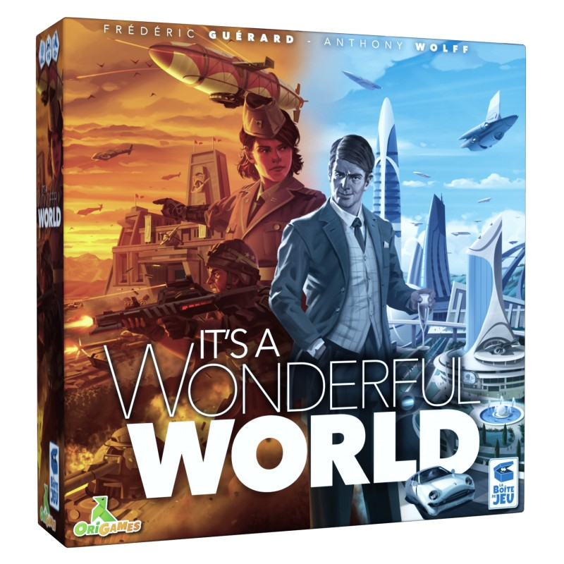 It's a Wonderful World FR La Boite de Jeu Origames