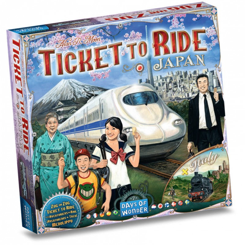 Les Aventuriers du Rail Extension : Japan Et Italie Fr Days of Wonder