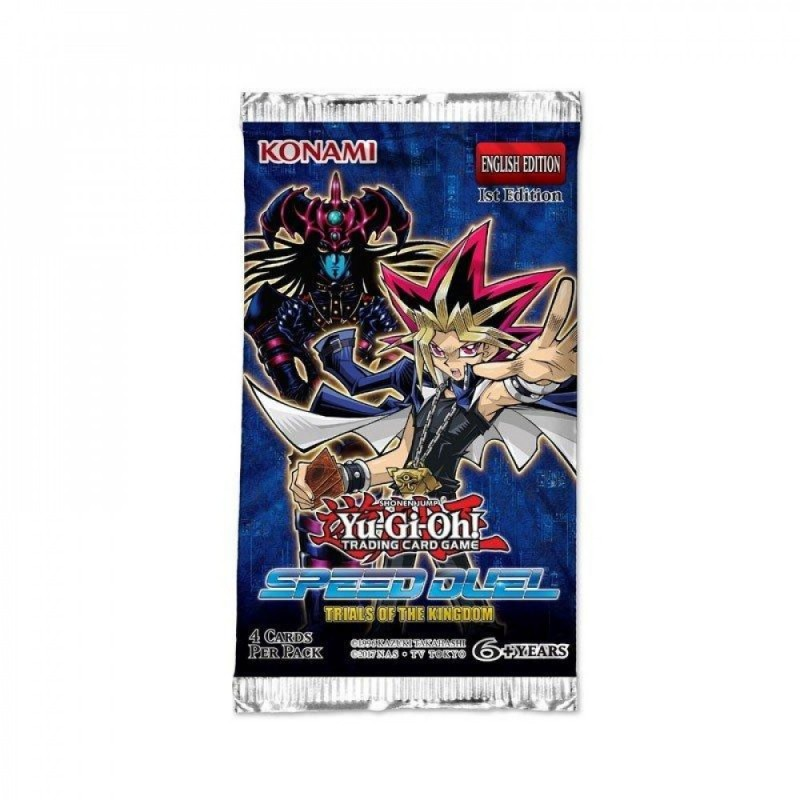 Yugioh Booster Speed Duel - Les Epreuves du Royaume FR Konami