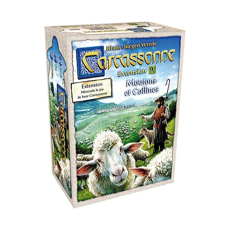 Carcassonne Extension n°9 Moutons et Collines FR z man games