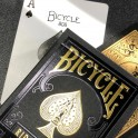 Bicycle Playing Cards Prenium Black and Gold x 54 cartes