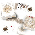 Prenium Playing Cards Artisan White x 54 cartes Theory11