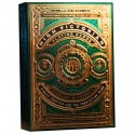 Prenium Playing Cards High Victorian Green x 54 cartes Theory11