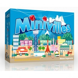 Minivilles VF Jeu de Societe Moonster