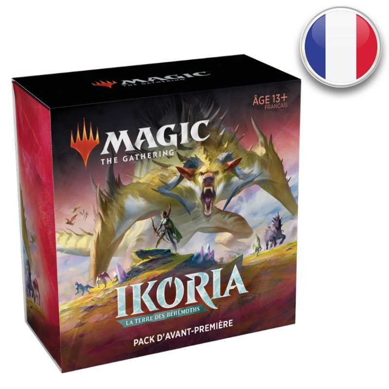 Magic Pack d'AP Ikoria La Terre des Béhémoths FR MTG The gathering