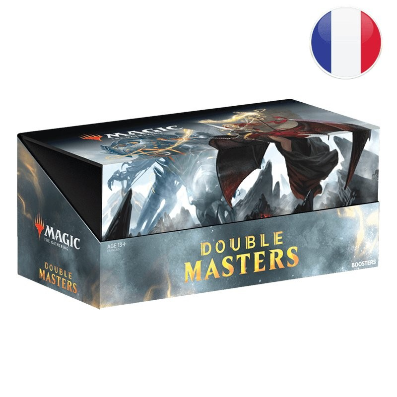 Magic Boite de 24 boosters Double Masters FR MTG The gathering