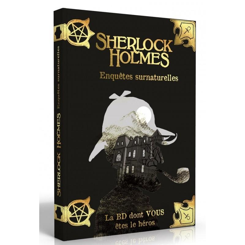 BD Sherlock Holmes : 7 Enquetres Surnaturelles FR Makaka Editions