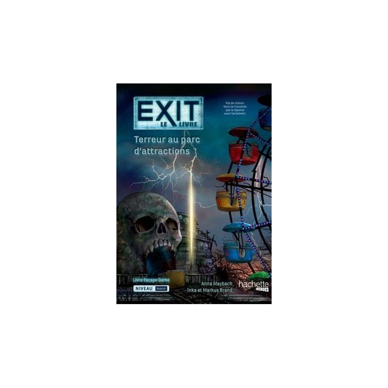 Exit Le LIvre : Terreur au Parc d'Attractions FR Hachette Heroes
