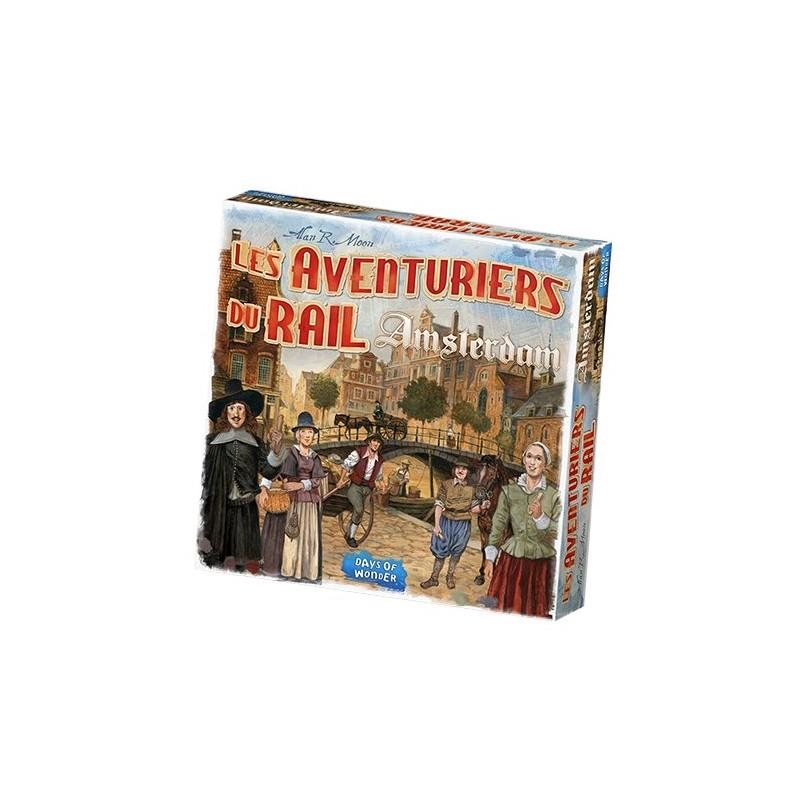 Les Aventuriers du Rail Amsterdam FR Days Of Wonders